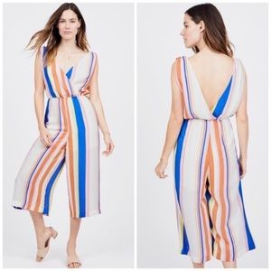 Line + Dot Revolve Rory Colorful Cropped Jumpsuit
